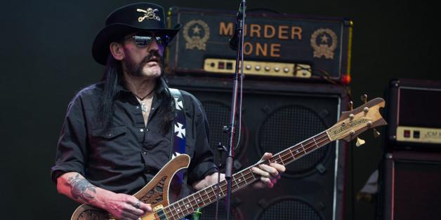 Der Motörhead-Frontmann Lenny Kilmister