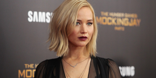 NEW YORK, NY - NOVEMBER 18:  Actress Jennifer Lawrence attends the 'The Hunger Games: Mockingjay- Part 2' New York premiere at AMC Loews Lincoln Square 13 theater on November 18, 2015 in New York City.  (Photo by Jim Spellman/WireImage)