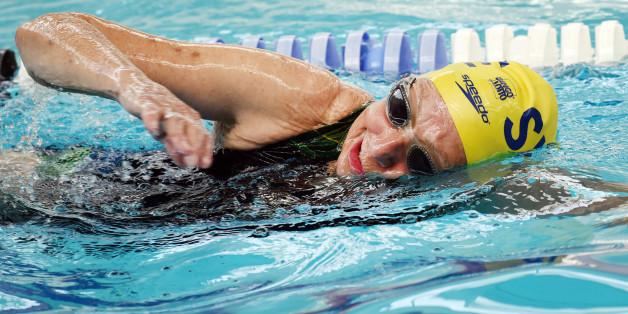 Leistungssportlerin Ingeborg ist 94 Jahre alt - und will mit dem Schwimmen nicht aufhören