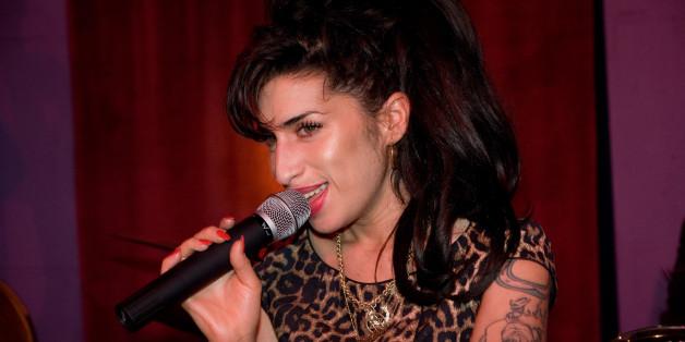 Amy Winehouse bei einer Launch Party im Oktober 2010