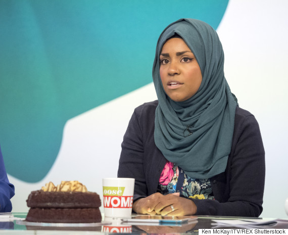 nadiya bake off loose women