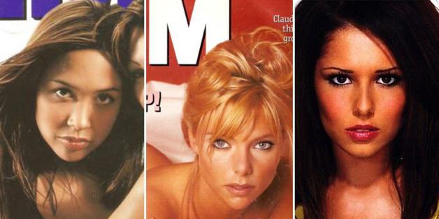 Forgotten FHM cover stars