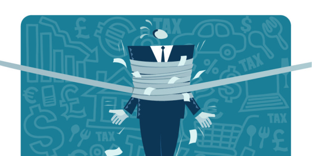 Business concept vector illustration: Financial risk.