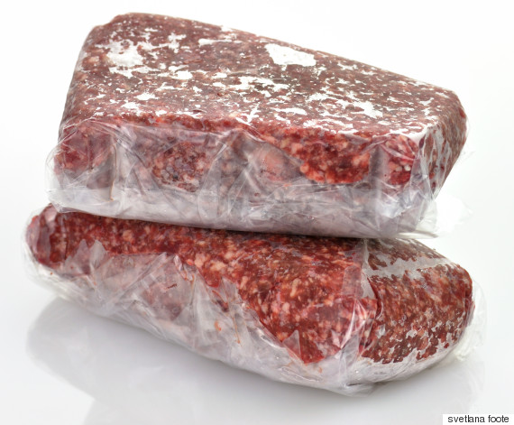 frozen meat