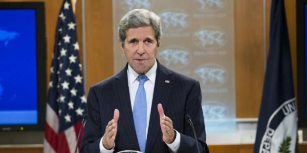 Le secrétaire d'Etat américain, John Kerry, le 7 janvier 2016 à Washington