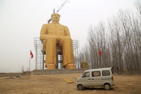 statua mao