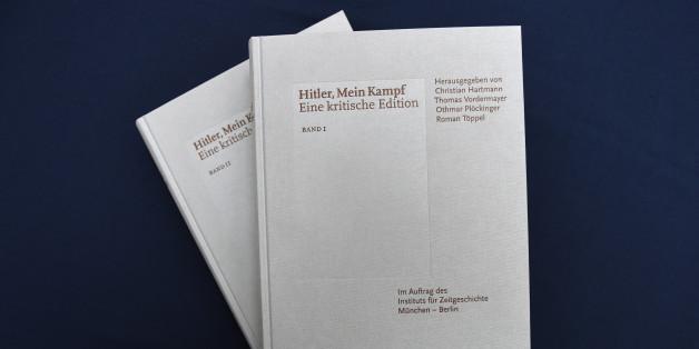 """Pour la 1ère fois depuis 1945, l'Allemagne réédite """"Mein Kampf"""""""