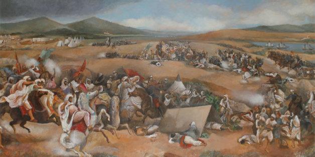 Guerre de Tétouan de l'artiste italienne Milly Corica