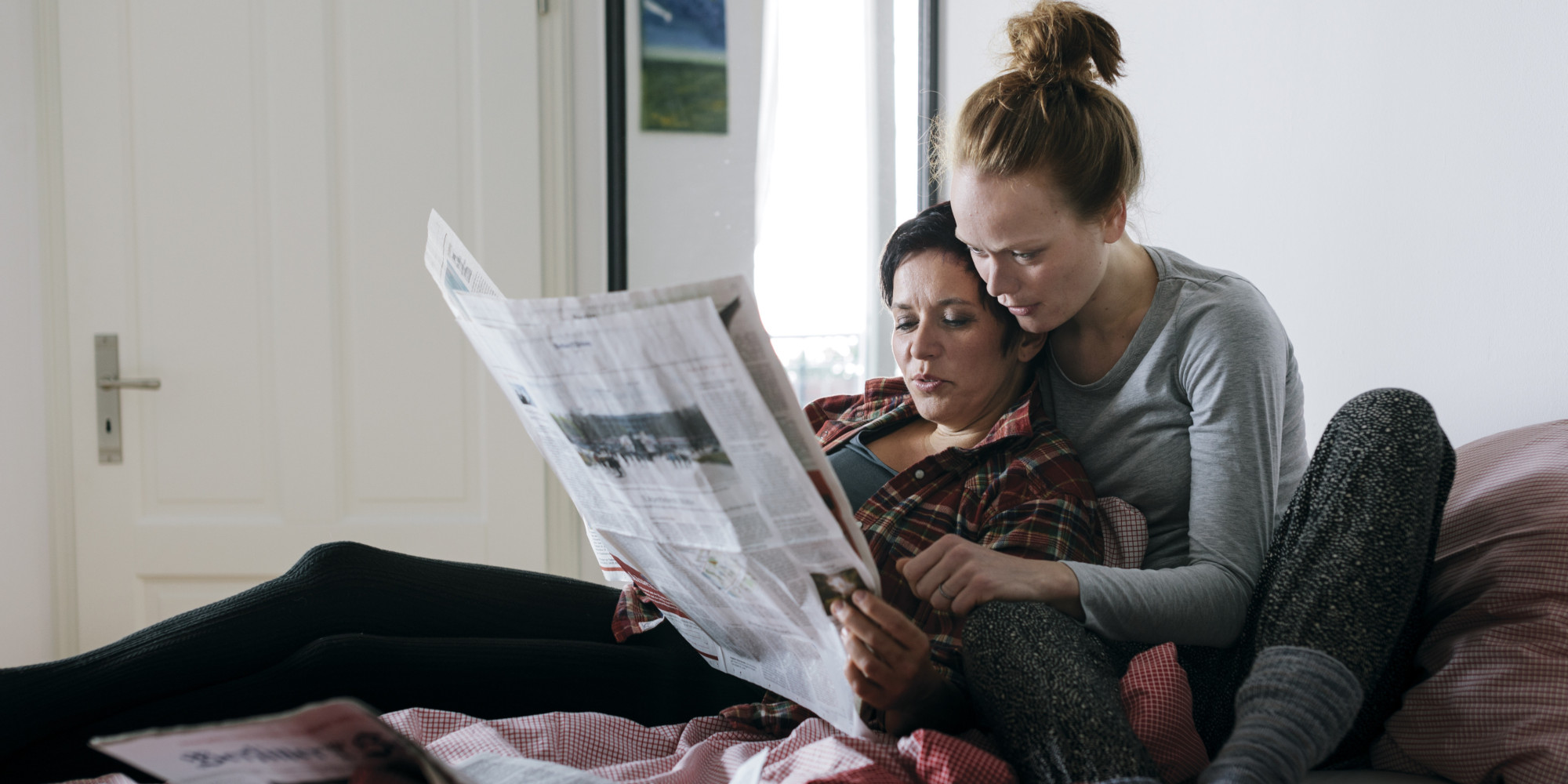 the downside of being a lesbian: no old man | huffpost