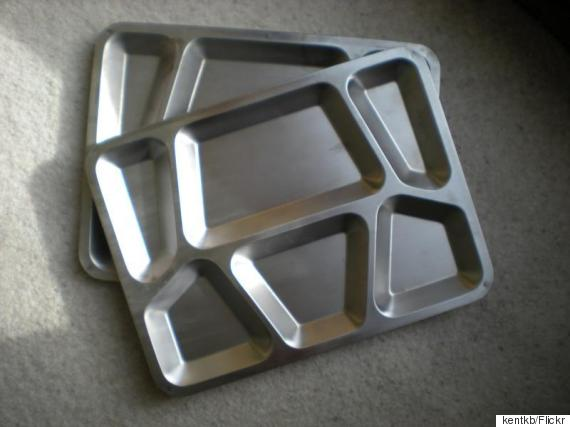 prison food tray