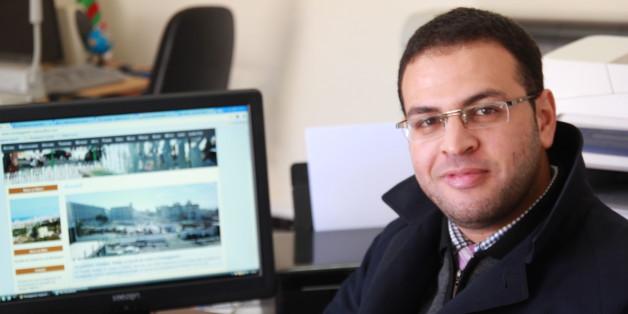 Rafik Khoukh, fondateur et administrateur du site d'information locale Mostaganem Aujourd'hui