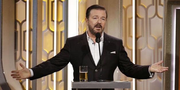 Moderator Ricky Gervais wurde von NBC bei der Übertragung der Golden Globes zensiert