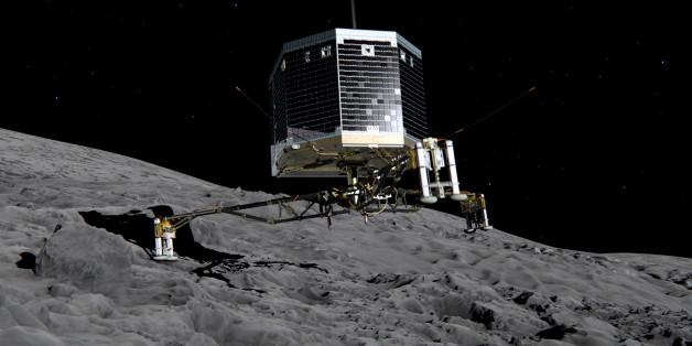 """""""Philae"""" auf dem Planeten """"Tschuri"""" - kann der Landeroboter wachgerüttelt werden?"""
