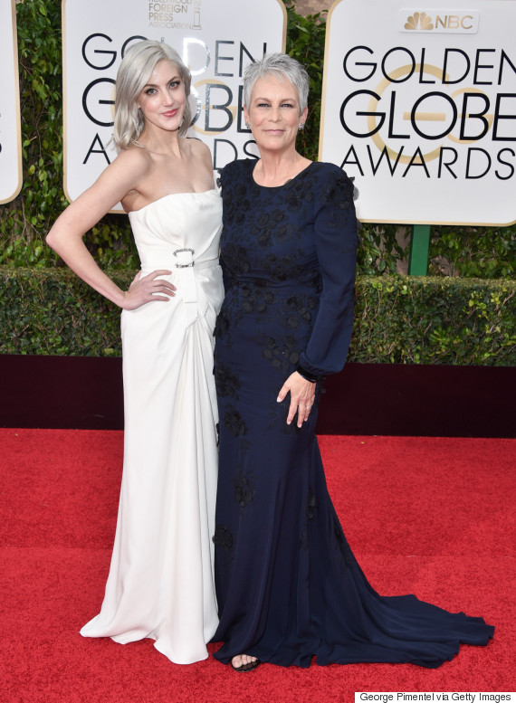 2016 golden globes jamie lee curtis 39 daughter is all for Jamie lee curtis husband christopher guest