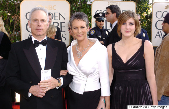 2016 golden globes jamie lee curtis 39 daughter is all for Is jamie lee curtis married to christopher guest