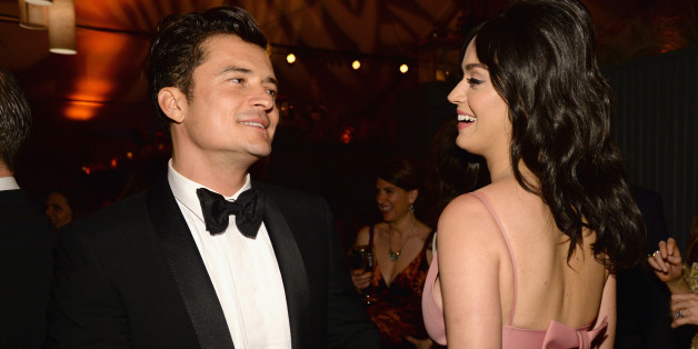 Orlando Bloom und Katy Perry flirten bei der Golden Globe Party