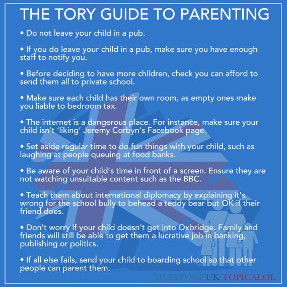 tory guide to parenting