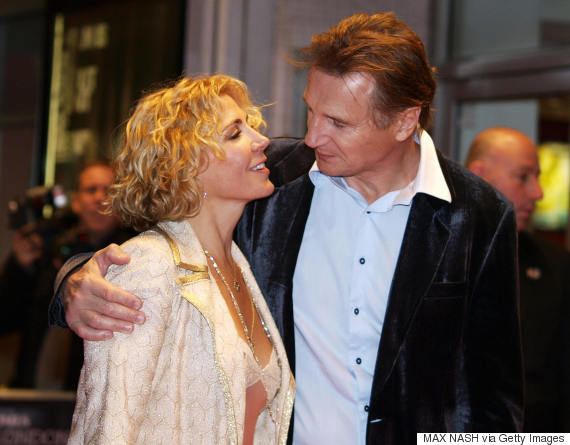 Liam neeson reveals natasha richardson serenaded him at for Natasha richardson liam neeson wedding
