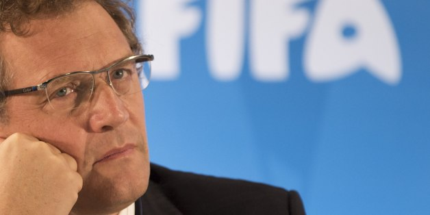 "FILE -  In this Thursday, Jan. 23, 2014 file photo FIFA Secretary General Jerome Valcke listen to questions during a news conference to present the new world cup song at the Maracana stadium in Rio de Janeiro, Brazil.  FIFA ethics judges have formally opened a case against Jerome Valcke, Thursday Jan. 7, 2016 who faces a nine-year ban from football. The ethics committee's judging chamber says it ""decided to institute formal adjudicatory proceedings"" against FIFA's former secretary general after"