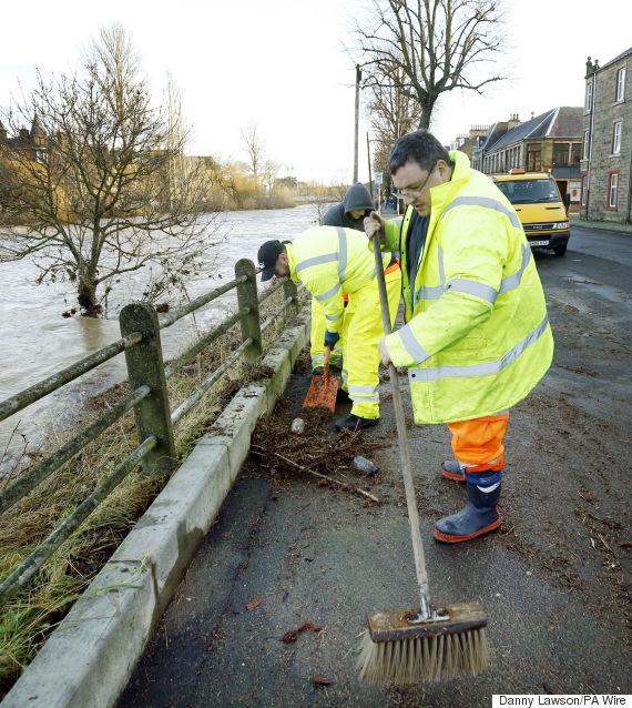 hawick flood