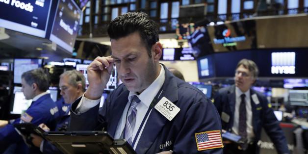 Aktienhändler an der Wall Street geraten in Panik