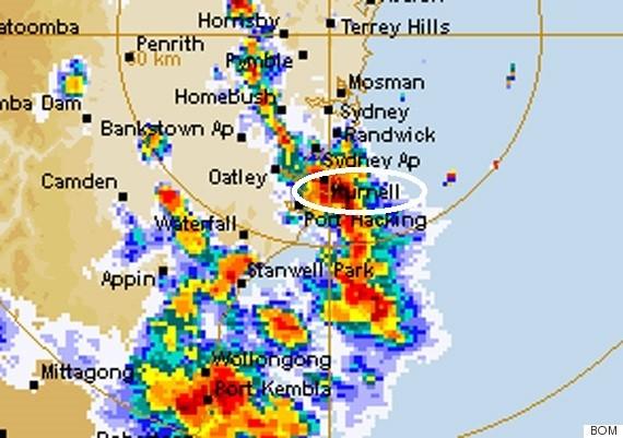 kurnell weather radar