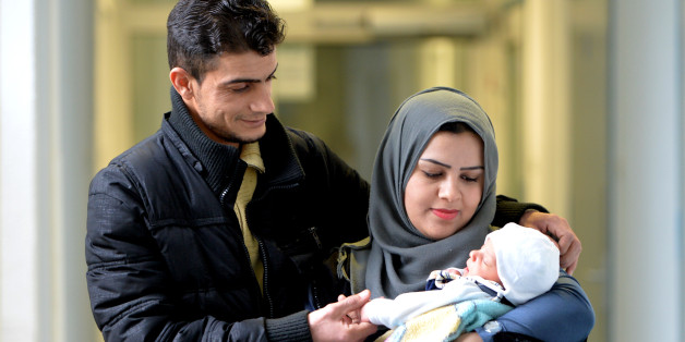 Syrische Flüchtlinge nennen ihre Tochter Angela Merkel
