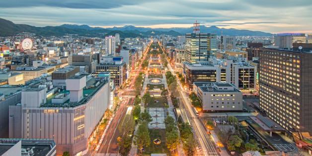 Sapporo liegt auf der japanischen Nord-Insel Hokkaido, die von einem starken Beben erschüttert worden ist (Symbolbild)