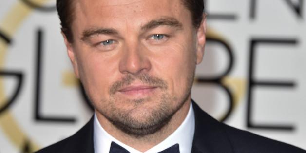 Leonardo DiCaprio bei den Golden Globe Awards