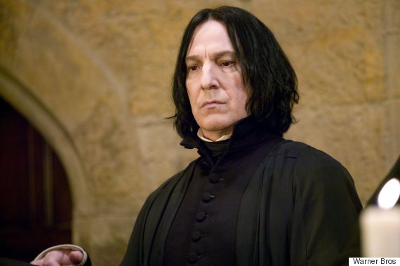 alan rickman snape harry potter