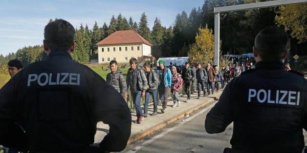 Wie Deutschland und Österreich ihre Grenzen dicht machen
