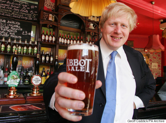 boris johnson beer