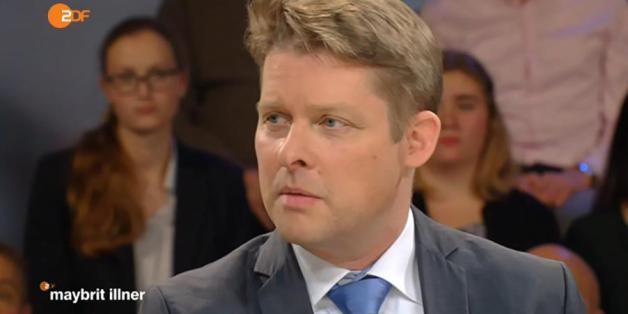 """Terror-Experte Guido Steinberg bei """"Maybrit Illner"""""""