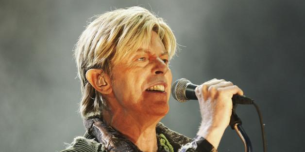 Der Musiker David Bowie im Jahr 2004