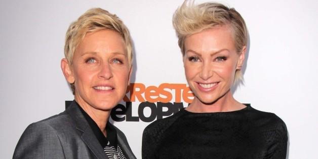 Ellen DeGeneres und Portia De Rossi haben ein Hündchen adoptiert