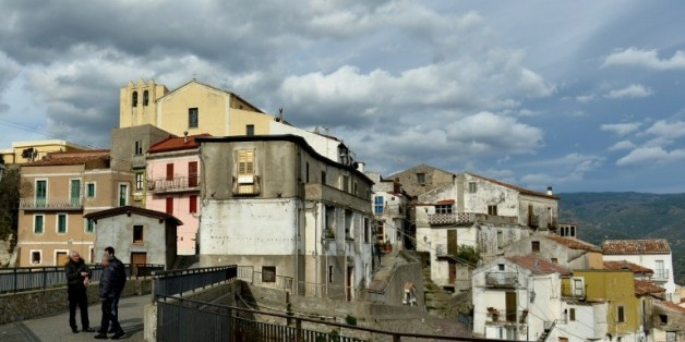 Le village de Sellia en Italie, le 11 janvier 2016