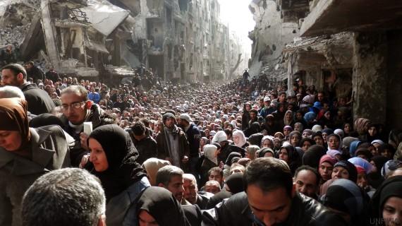 yarmouk hambre