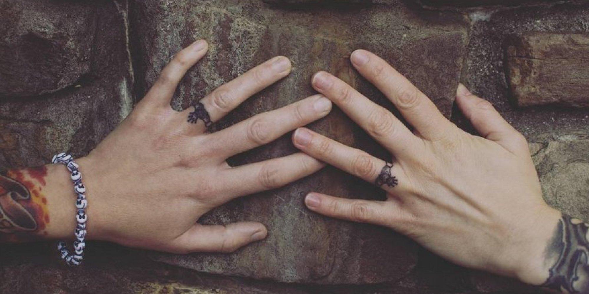 wedding ring tattoos female - image of wedding ring enta-web