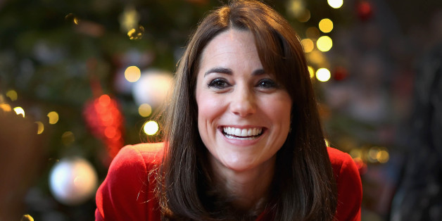 Photo by: KGC-375/STAR MAX/IPx 2015 12/15/15 Catherine The Duchess of Cambridge visits the Anna Freud Centre in Islington and attends their annual Christmas party.  The Duchess joined groups of families in festive activities designed to help pupils reflect on the positive progress in their social relationships and communication skills. (London, England, UK)