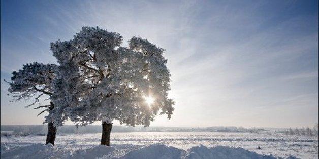 """Sturmtief """"Gudrun"""" bringt frostige Temperaturen und Schnee."""