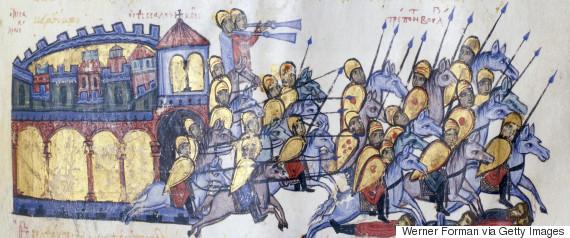 byzantine soldiers