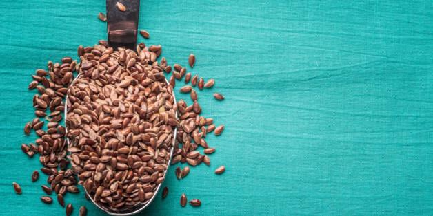 Leinsamen sind das älteste Mittel gegen Magen-Darm-Beschwerden.