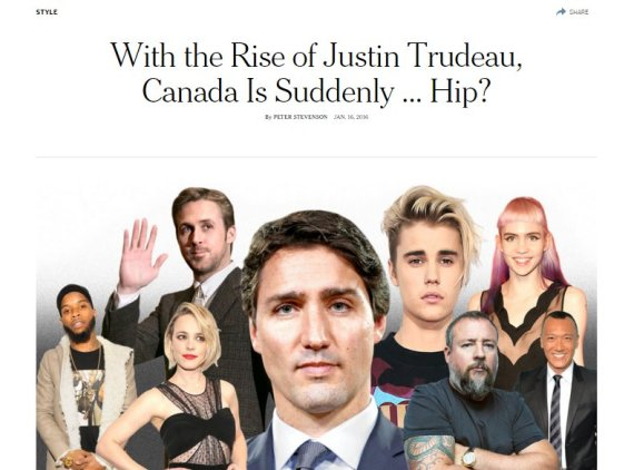 new york times canada cool hip