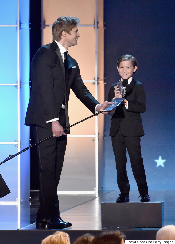 jacob tremblay critics choice 2016