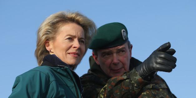 Verteidigungsministerin Ursula von der Leyen