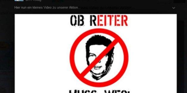 Pegida-Anhänger bedrohen den Münchner Oberbürgermeister
