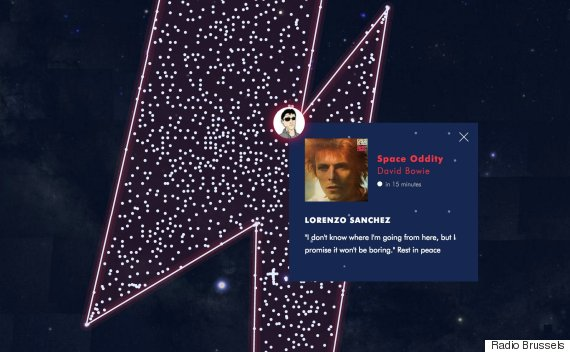 david bowie constellation
