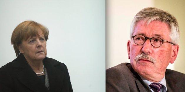 Thilo Sarrazin fordert Misstrauensvotum gegen Merkel