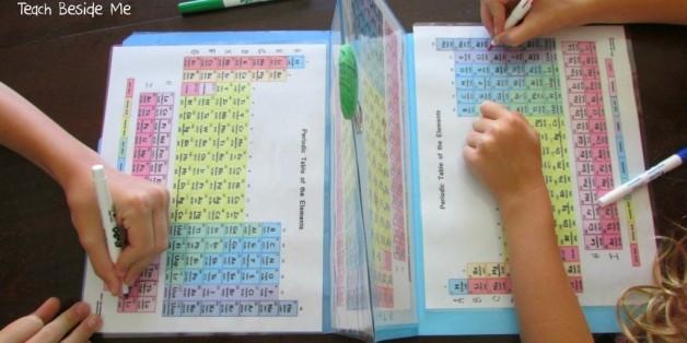 Cette maman a trouvé une solution pour faire apprendre le tableau périodique à vos enfants