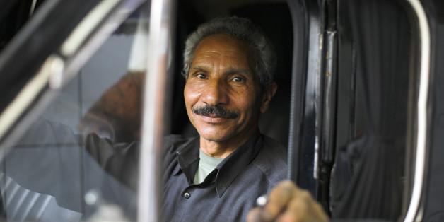 Symbolbild Taxifahrer
